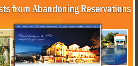 Images can Prevent Guest from Abandoning Reservations