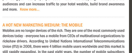 A Hot New Marketing Medium: The Mobile