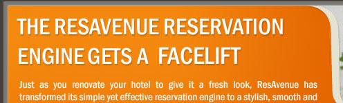 The ResAvenue Reservation Engine Gets A  Facelift