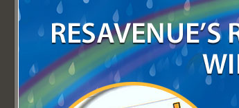 ResAvenue's reporting feature will back you up on a rainy day!