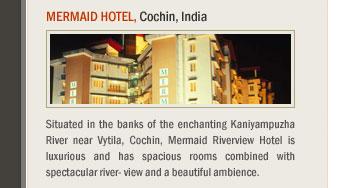 Mermaid Hotel, Cochin, India