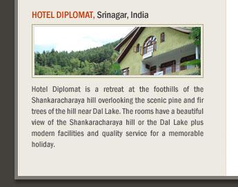Hotel Diplomat, Srinagar, India