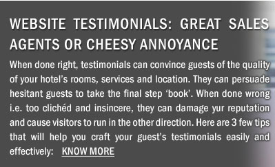 Website Testimonials: Great Sales Agents or Cheesy Annoyance