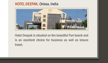 Hotel Deepak, Orissa, India